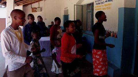 Praising God in Iringa