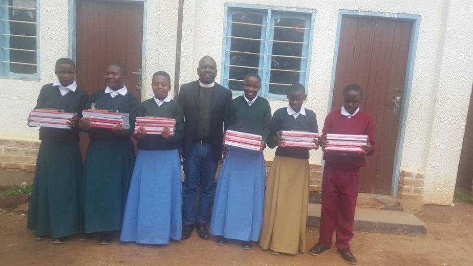 Uniform and Stationery with Minister