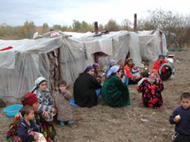 Tajik Refugees Russia