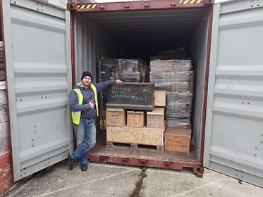 Shipping container tools UK to Malawi for youth training and start-up