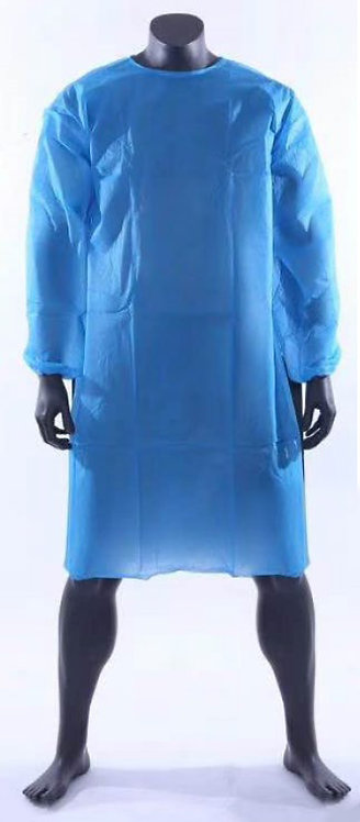 12541  Disposable Protective Gown - Blue