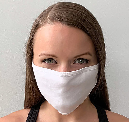 FM21-01  Tultex Flat Face Mask, Blank