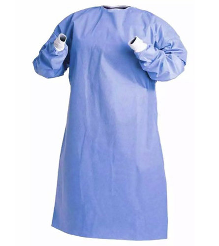 12544  Level 3 Polyester Gown,  Sterile