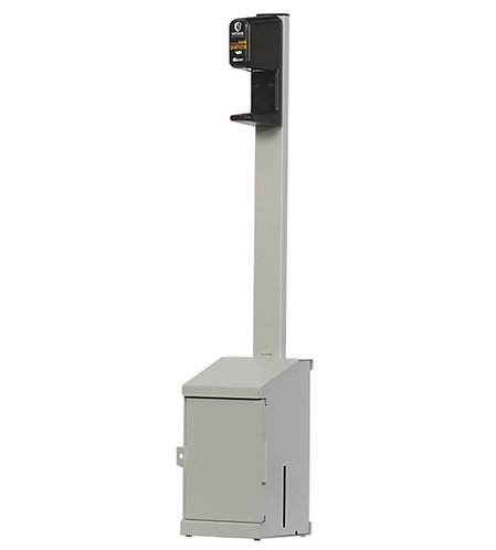 IDG-103 Fortress Hand Sanitizer Station - 1 dispenser, One Gallon Refill