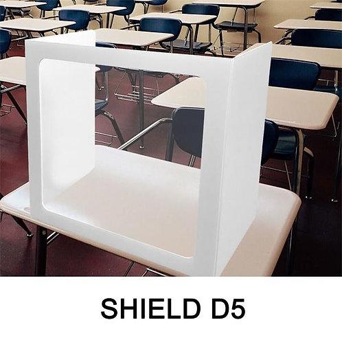 SHIELD-D5 Corrugated Desk Shield D5