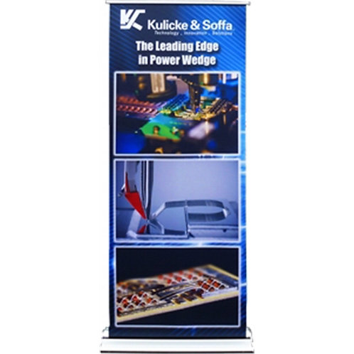 """BAN-RS16-72 SilverTeck Roll Up Banner 33.5""""x72"""""""