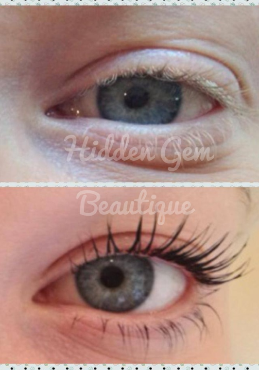 LVL Lashes lasts 8 weeks