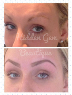 Perfectly shaped HD Brows