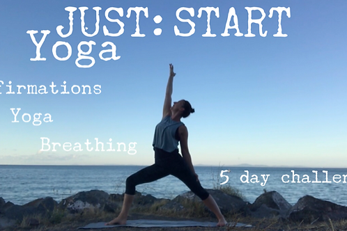 JUST:START Yoga 5 Day Course