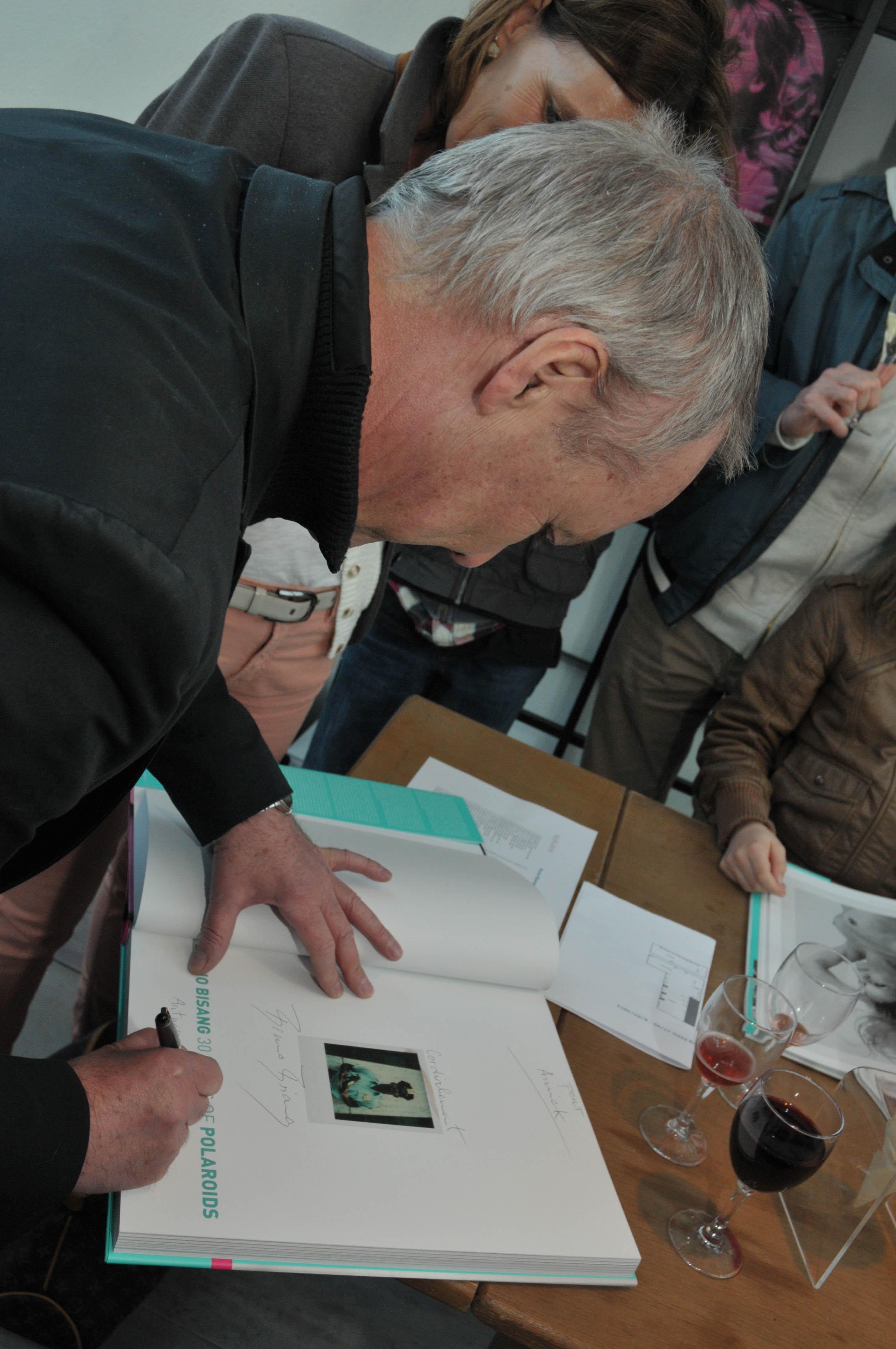 Bruno Book Signing