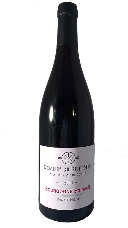 Pinot Noir AOP Bourgogne Epineuil 2017