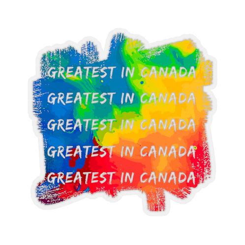 Greatest In Canada Sticker