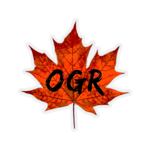 OGR Maple Sticker