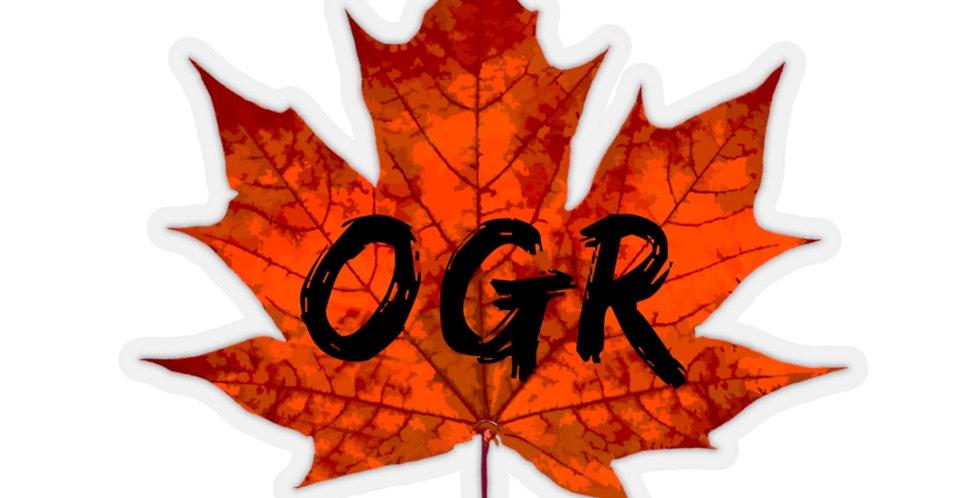 OGR Maple Sticker