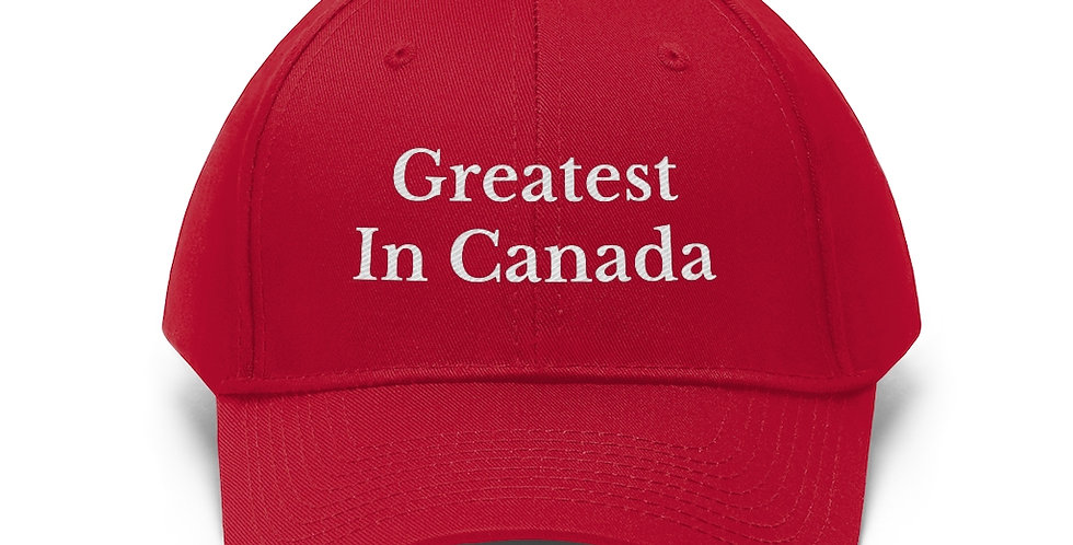 Greatest In Canada Hat