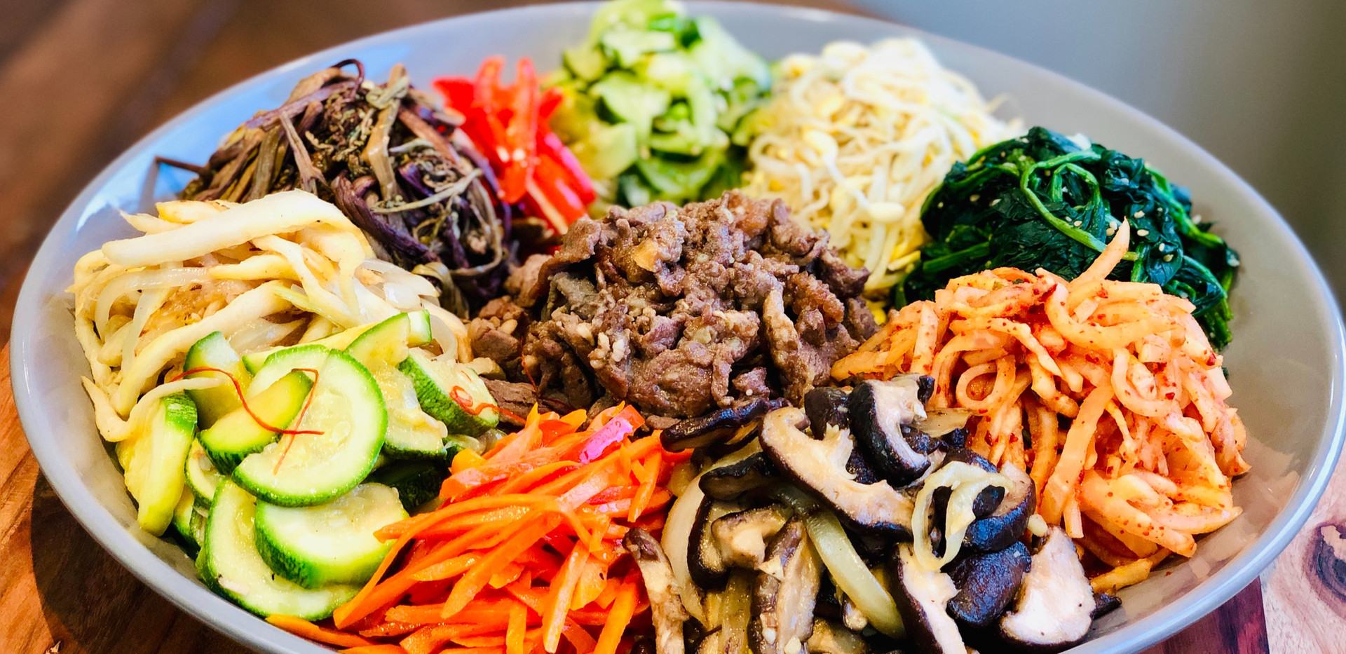 AUTHENTIC Bibimbap (비빔밥) & Dolsot-bibimbap (돌솥비빔밥) [Korean Mixed Rice] [Korean Stone Pot Bibimbap)