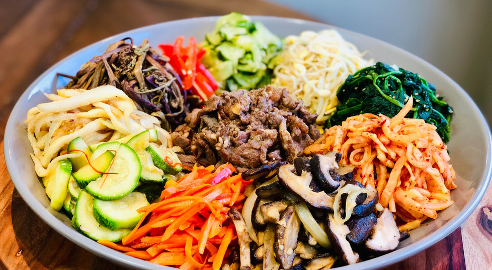AUTHENTIC Bibimbap (비빔밥) & Dolsot-bibimbap (돌솥비빔밥) [Korean Mixed Rice] [Korean Stone Pot Bibimbap)
