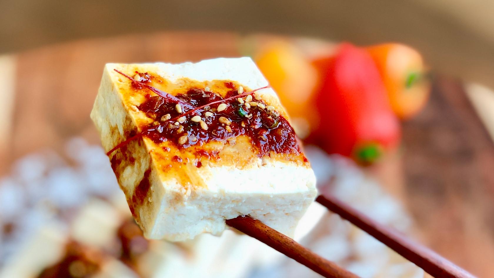 Firm Tofu With Soy-Sauce Seasoning Sauce (두부 양념간장 반찬)