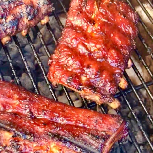 🌶Spicy GoChuJang 🇰🇷고추장 BBQ Sauce w/ Southern Style Pork Ribs