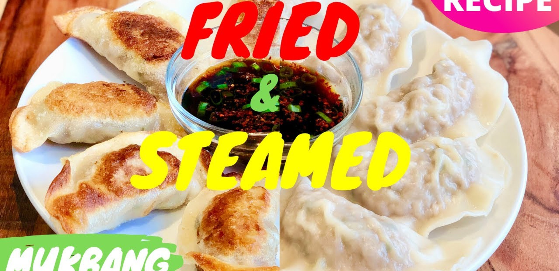 MANDU Korean DUMPLINGS 3 Ways: FRIED, STEAMED & BOILED Mandu (만두 황금레시피); [DUMPLING Recipe & Mukbang]