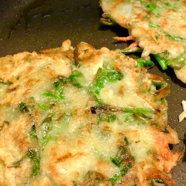🌱Vegetable Pancake (야채전 YaChaeJoen)