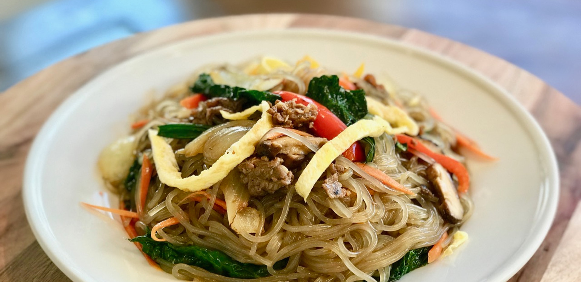 JapChae Recipe 잡채: Korean Sweet Potato Glass Noodles Stir-Fried w Vegetables + Vegan JapChae; (잡채 황금레시피)