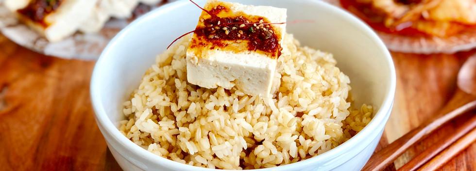 Firm Tofu With Soy Sauce Seasoning Banchan (두부반찬) 두부 양념간장