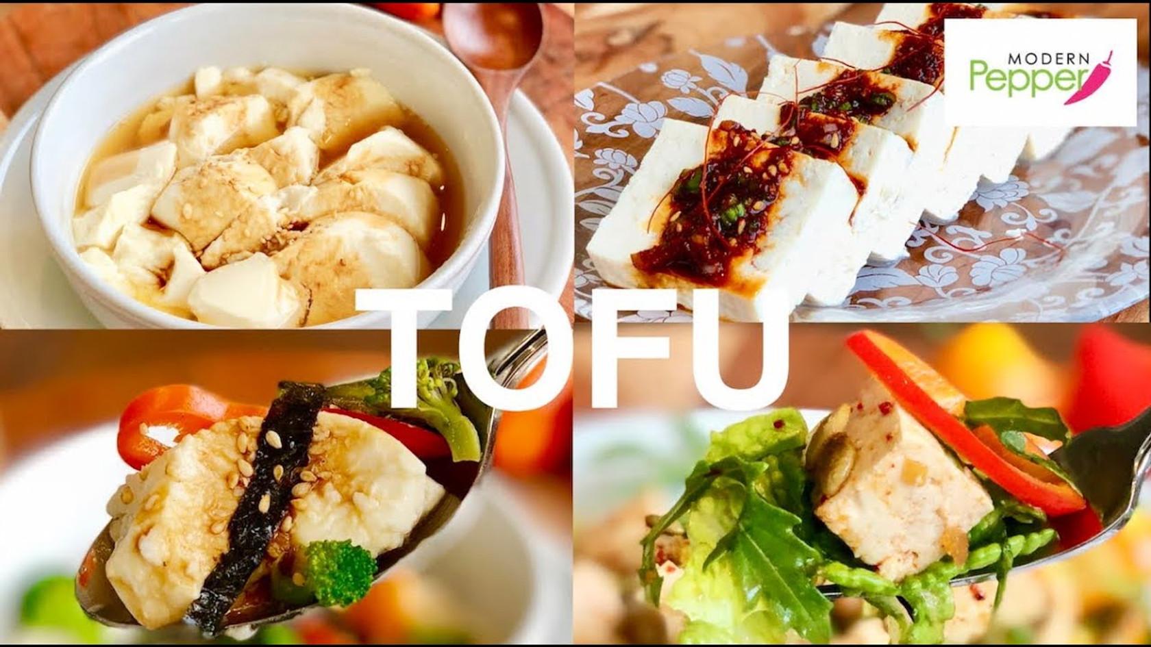 Korean Tofu: 4 Ways To Enjoy (두부 4가지 방법)