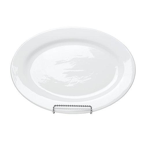 White China Oval Platter – Large