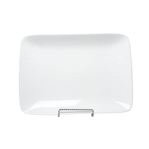 White China Rectangular Platter