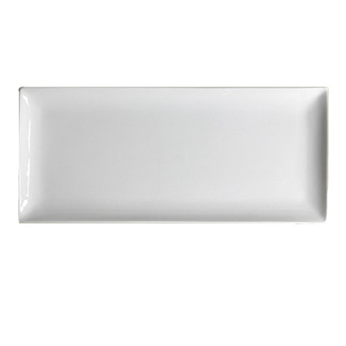 White Rectangular China Platter