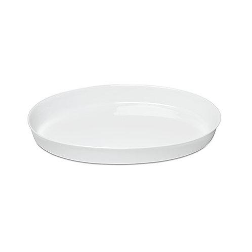 White China Casserole Platter