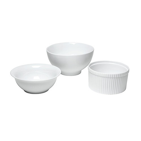 White China Serving Bowls