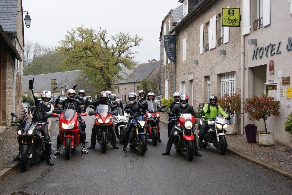 groupe de moto