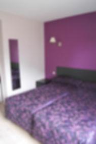 Chambre à lits jumeaux - Hotel*** Correze des Voyageurs
