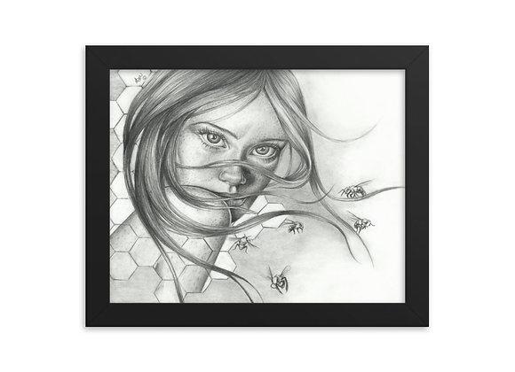 """Hive"" Framed Print"