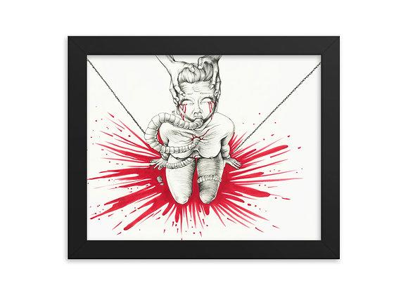 """""""Take It Pt I"""" Framed Print"""