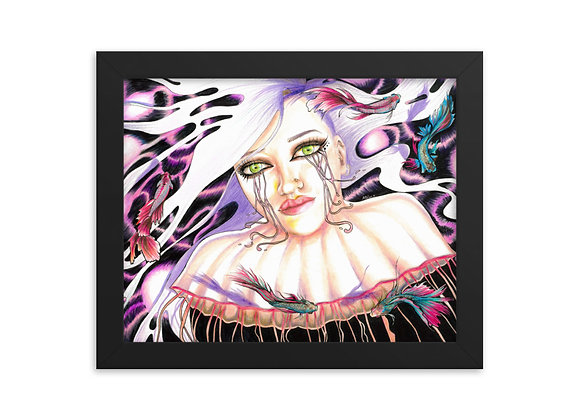 """Sea Through Me"" Framed Print"
