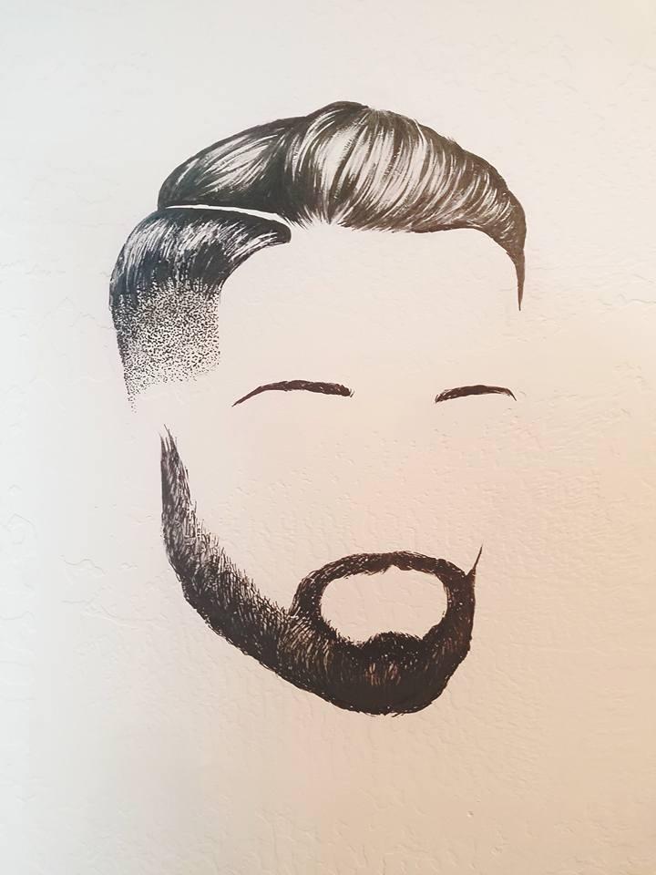 Beard 2 Mural