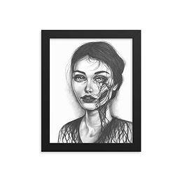 """Her Nature"" Framed Print"