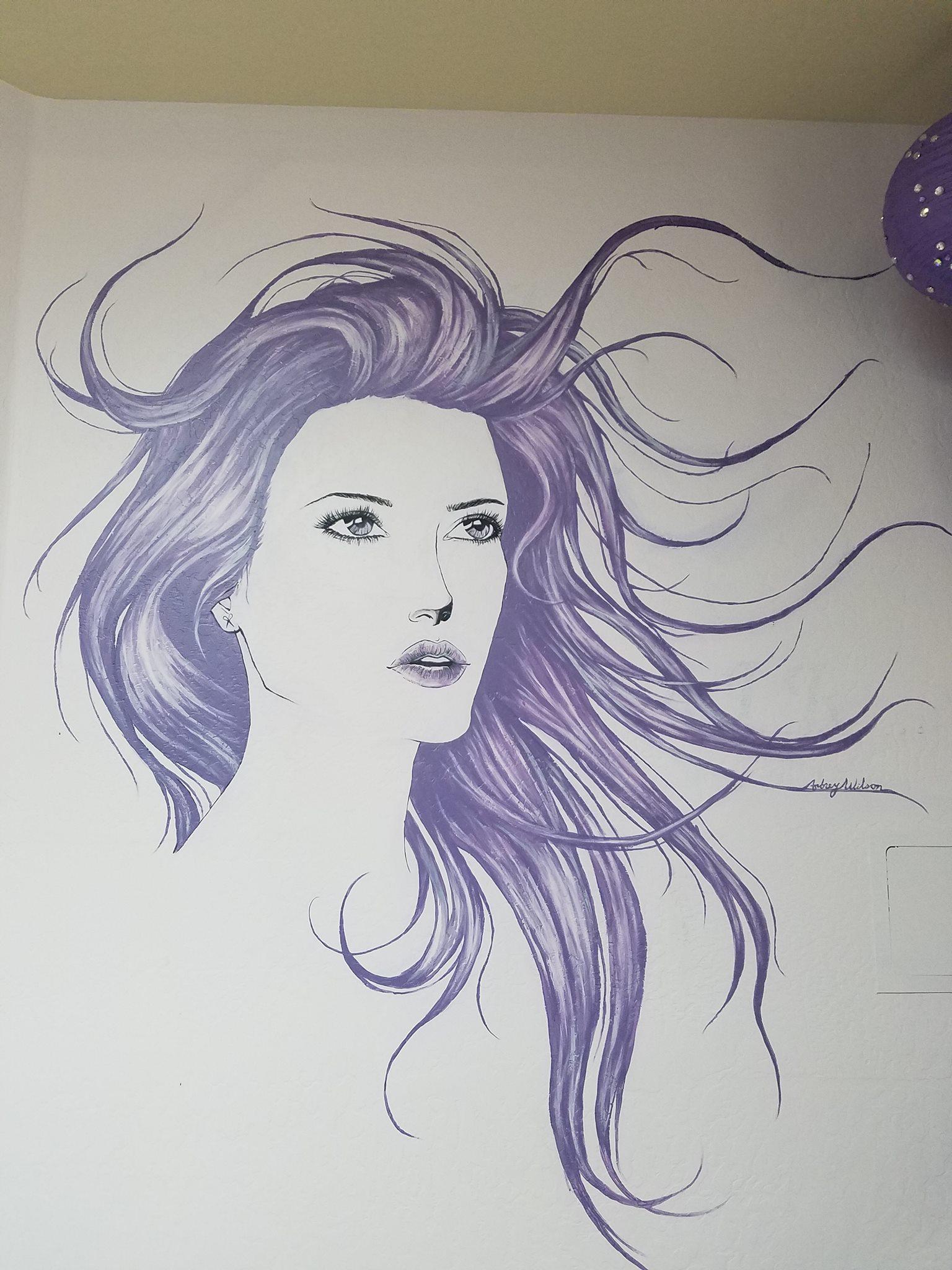 Hair Salon Mural