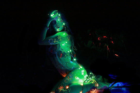 Starry Nymph of the Forest