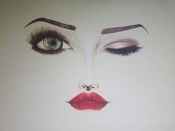 Beauty Salon Mural