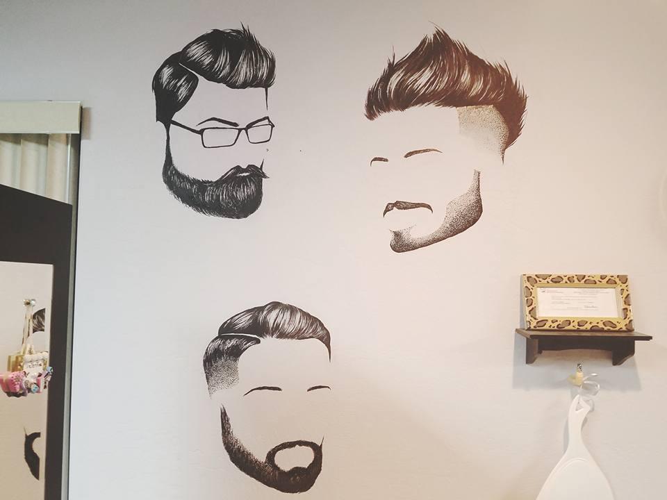 Beards Mural