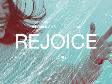 Rejoice Even