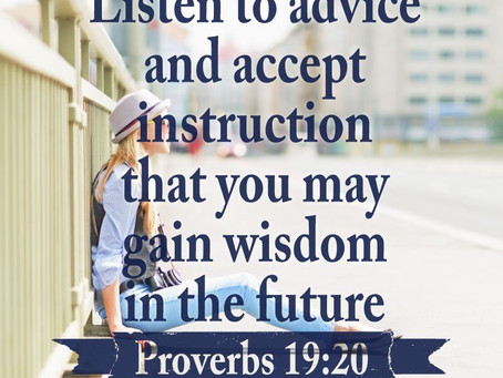 Instruction, Acceptance, and Wisdom