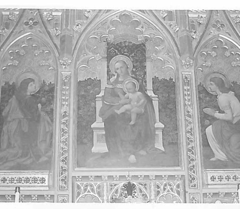 Black and white photo of reredos_edited.