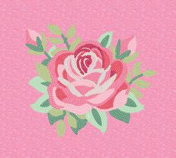sequin rose