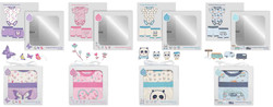 BD packaging bloomers set layout