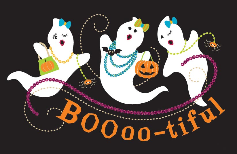 boooo-tiful ghosts